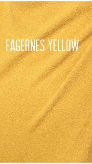 M4020 Fagernes Kjole Gul