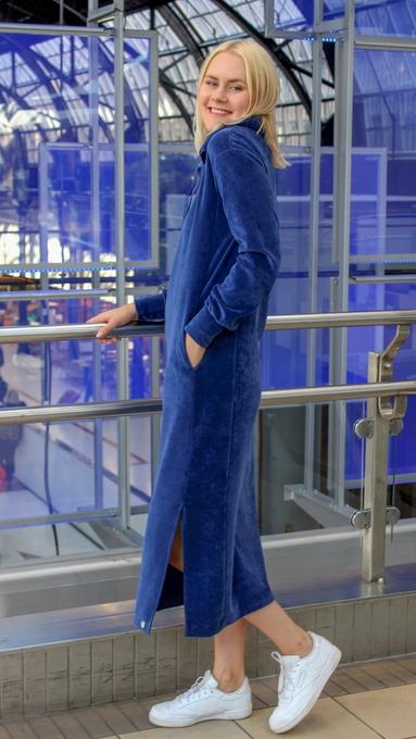 Hemsedal blå kjole 1