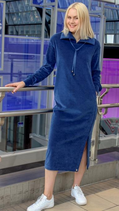 Hemsedal blå kjole 2