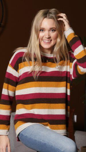 Vang stripete genser