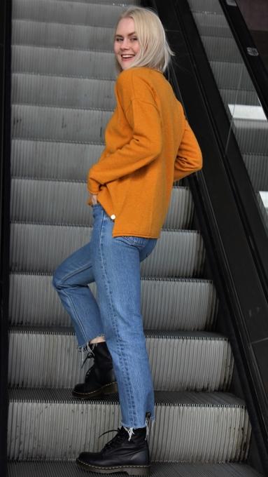 Vang oker genser 2