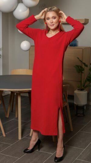 Voss rød kjole
