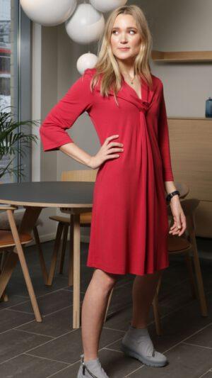 Geilo kjole bringebær 1