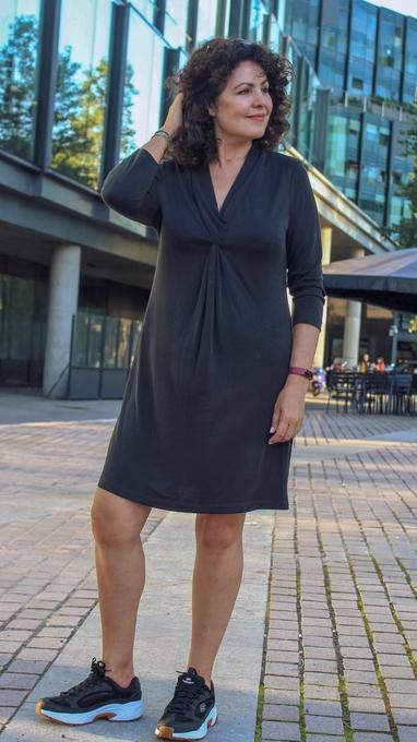Geilo kjole gråsvart 1