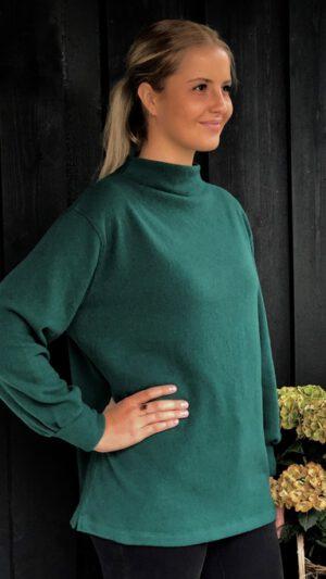 Tyin genser flaskegrønn 1