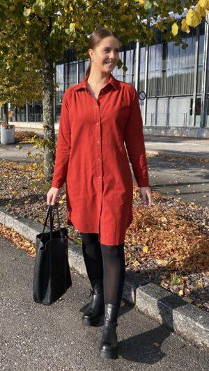 Kongsberg kjole rust 3