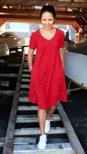 Blindleia kjole red 1 ny R