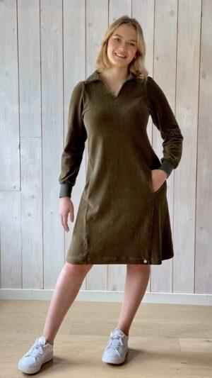 Hoff kjole short army 1