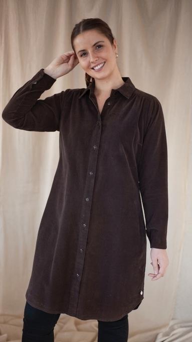 Kongsberg kjolefrakk Brown 1