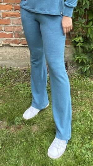 Sandvika bukse i jeansfarge