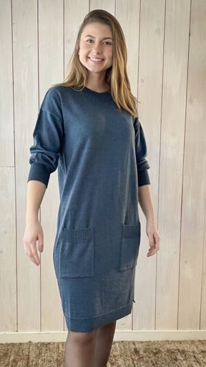 Ekeberg kjole blue 1