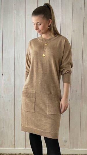 Ekeberg kjole Camel 1